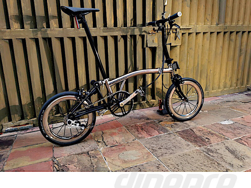 Custom Brompton by Kevin from Malaysia